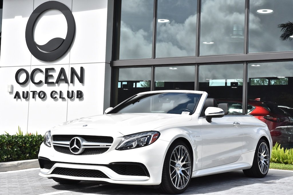 Pre-Owned 2017 Mercedes-Benz C-Class C 63 AMG®